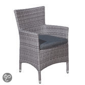 Garden Impressions Fleur dining fauteuil organic grey