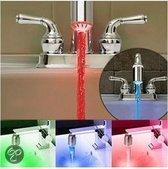 3-kleuren RGB LED water kraan Licht temperatuursensor Veilig