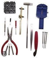 Top 10 Top 10 Horlogebanden & -sluitingen: 16 delig horloge gereedschap set watch tool kit