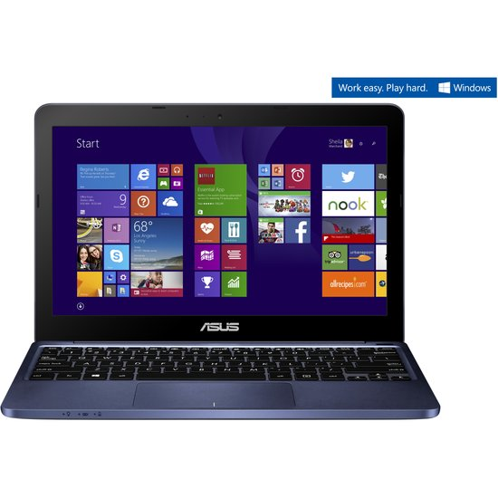 Asus F205TA-BING-FD018BS - Laptop / Blauw