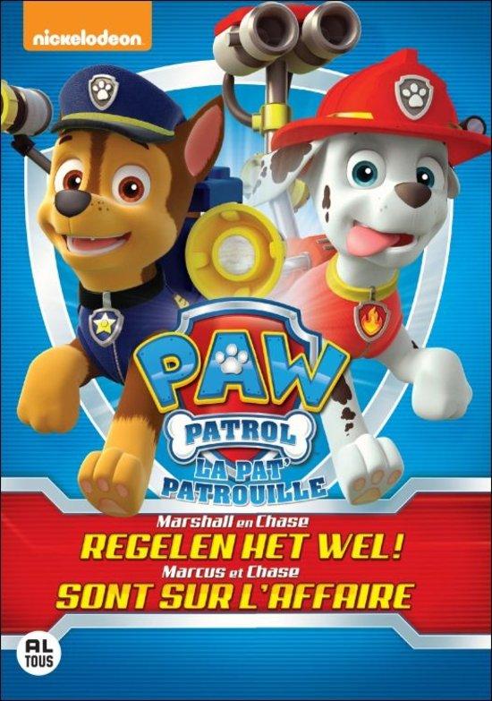 Paw Patrol - Marshall En Chase Regelen Het Wel
