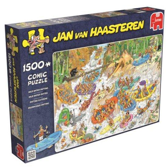 Jan van Haasteren Wild Water Rafting - Puzzel - 1500 Stukjes