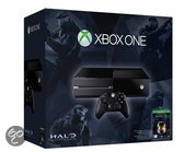 Microsoft Xbox One 500GB Console + 1 Wireless Controller + Halo: The Master Chief Collection - Zwart Xbox One bundel