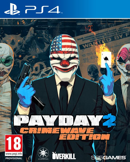 Payday 2 Crime Wave  PS4