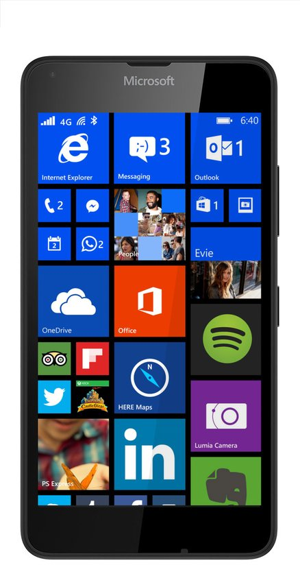 Microsoft Lumia 640 - Zwart