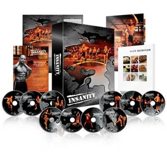 Top 10 Top 10 Vrije tijd, Sport & Lifestyle: Insanity Workout training DVD's