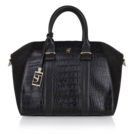 Supertrash ST Beverly Bag  - Handtas - Black