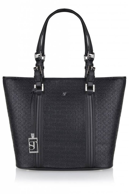 Supertrash Bennet Bag - Handtas - Black