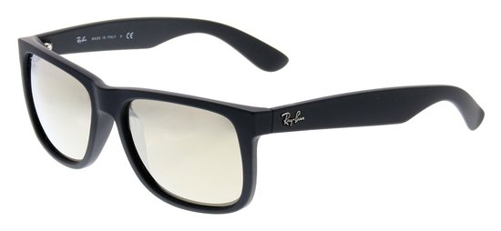Ray-Ban Justin RB4165 55 622/5A - Zonnebril - Zwart/Bruin - 55 mm