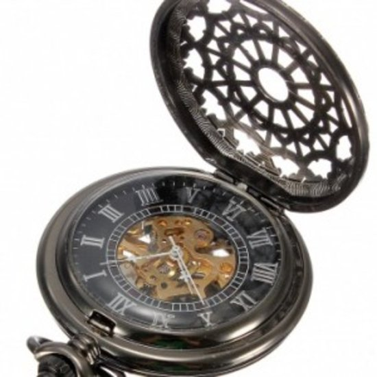 Top 10 Top 10 Zakhorloges & Horlogekettingen: Zakhorloge Web Skeleton