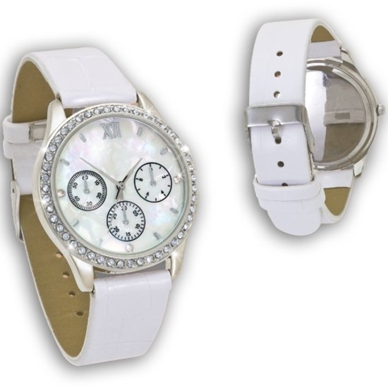 Luigi Vigaro horloge  Blanc