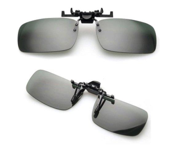 Clip-On Zwart - Opzetzonnebril