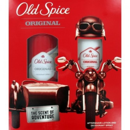 Old Spice Geschenkverpakking Aftershave & Deospray