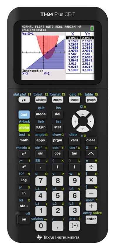 Top 10 Top 10 Schoolspullen: Texas Instruments TI 84 Plus - Rekenmachine / Color Edition T