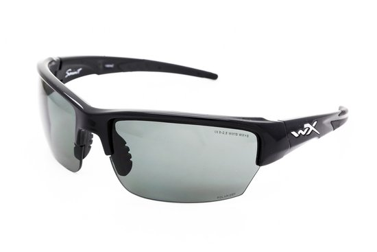 Wiley X WX Saint Polarized CHSAI04 - Zonnebril - Zwart