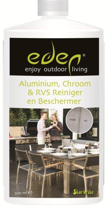 Eden Aluminium, Chroom en RVS Reiniger & Beschermer – 500 ml