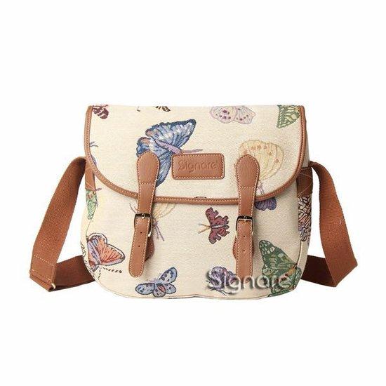 Gobelin - Schooltas - Messengertas - Vlinder - Butterfly - Vlinders - 12960