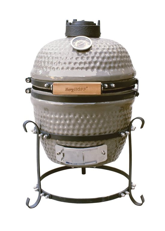 Top 10 Top 10 Barbecues: Berghoff Ceramic BBQ Small - Grijs