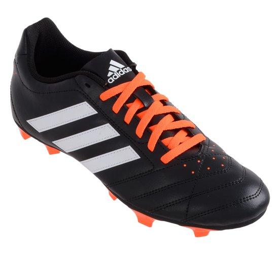 adidas Goletto V FG - Voetbalschoenen - Mannen - Maat 46 - zwart/wit/oranje