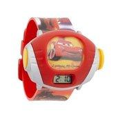 Cars horloge projector