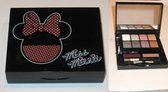 Minnie Mouse Make up doosje zwart plastic