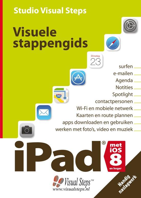 Visuele stappengids iPad met iOS 8