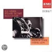 Top 10 Top 10 klassieke instrumentaal cds: DEBUT  Beethoven, Brahms, Mozart: Music for Horn /Clark, etc