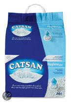 Catsan - Hygiene Plus - Kattenbakvulling - 20 L