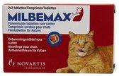 Milbemax volwassen kat van 2 kg tot 12 kg - 1 st à 2 X 2 Tabletten