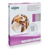 Petsafe Hondenluik 760 - Large - Wit/Transparant