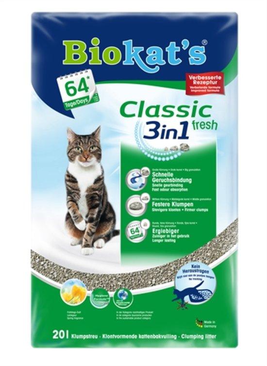 Biokat's kattenbakvulling Fresh - 20 L