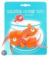 Happy Meow Goudvis - Kattenspeelgoed - met Catnip