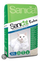 Sanicat - Extra - Kattenbakvulling - 32 L