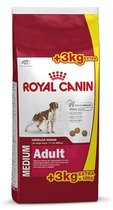 Royal Canin Medium Adult - Hondenvoer - 15 + 3 kg