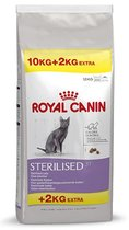 Royal Canin Sterilised - 37 - Kattenvoer - 10 + 2 kg Extra