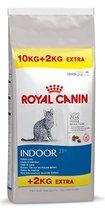 Royal Canin Indoor - 27 - Kattenvoer - 10 kg + 2 kg Extra