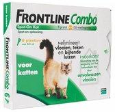 Frontline combo voor katten en fretten vanaf 6 maanden - 1 st à 6 Pipetten