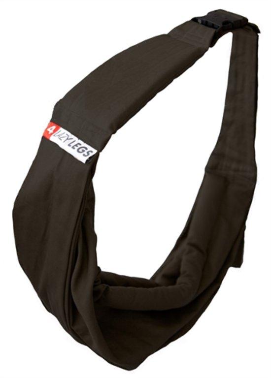 4LazyLegs Pet Carrier Basic Pocket Black - - 10.4 x 10.4 x 26 cm
