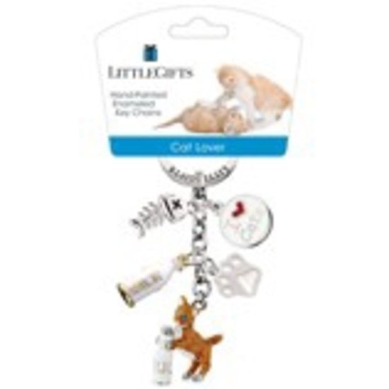 Little Gifts Sleutelhanger - kat Met fles gekleurd