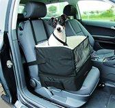 Trixie Autozetel Voor Kleine Hond Nylon - Transportkooi - 45 cm x 38 cm x 37 cm - Zwart