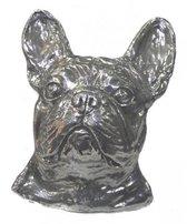 Franse bulldog hoofd 2d