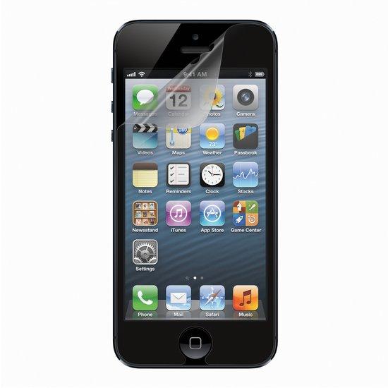 Belkin TrueClear transparant beschermfolie voor Apple iPhone 5 - 3 stuks
