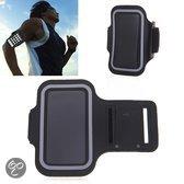 Sportband Samsung Galaxy S3/S4/S5 hardloop sport armband -Zwart