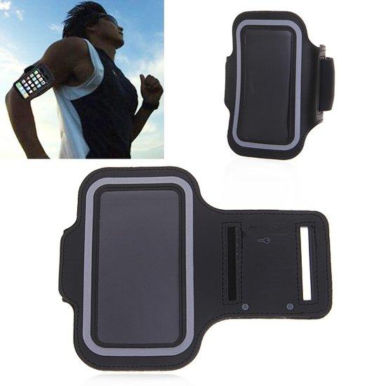 Top 10 Top 10 besteverkochte sportarmbanden: Sportarmband iPhone 6 - 4.7 inch hardloop sport armband - Zwart