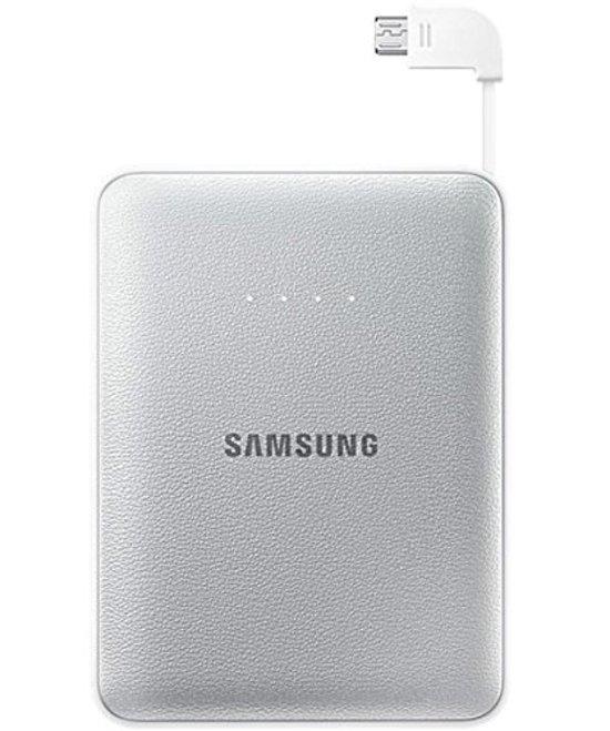 Samsung Powerbank extra batterij kit 8.400 mAh met micro USB aansluiting - Zilver