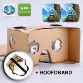 GadgetQounts - Google Cardboard + Hoofdband | Virtual reality bril