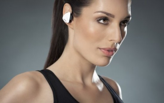 Top 10 Top 10 beste bluetooth headsets: Avanca D1 Headset wit: draadloze Bluetooth sport headset