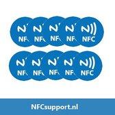 NFC Tags set 10 stuks
