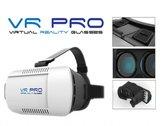 VR PRO Virtual Reality Glasses 3D Bril o.a. te gebruiken met Samsung Galaxy S5 / S6 / S6 edge / S6 edge plus / Note 4, Apple iPhone 6 / 6 plus, iPhone 6s /6s plus en vele andere smartphones, PRO-kwaliteit!, zwart , merk VR PRO