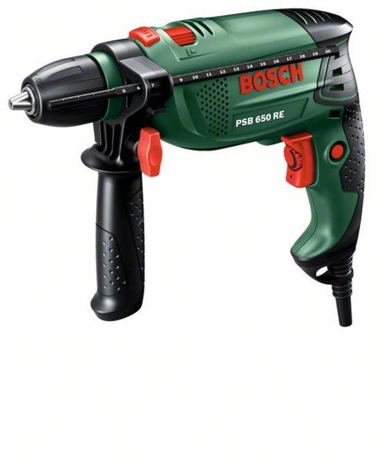 Bosch PSB 650 RE Boormachine - 650 Watt - Met stevige kunststof koffer